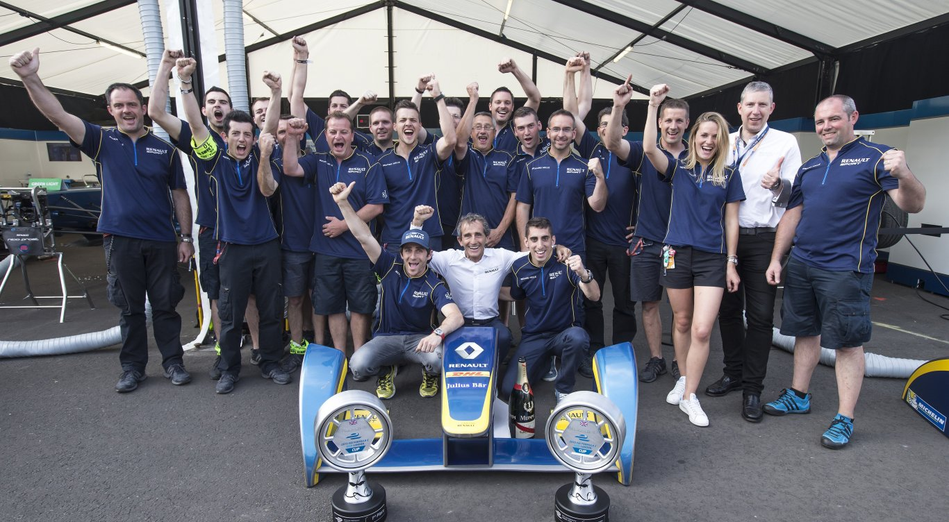 First ever title for e.dams-Renault !