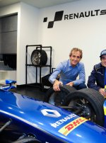e.dams-Renault en pole position au KIDZANIA LONDON